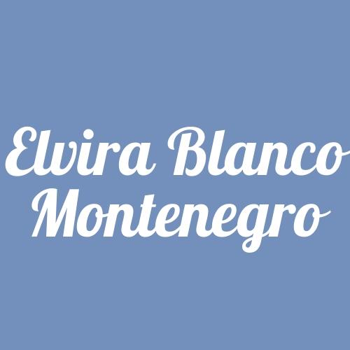 Elvira Blanco Montenegro
