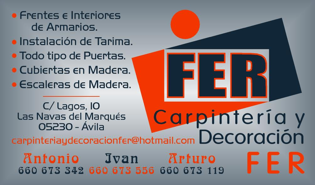 Carpinteria Y Decoracion Fer