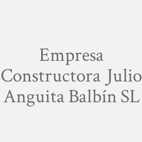 Empresa Constructora Julio Anguita Balbín S.L.