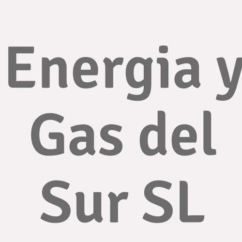 Energia Y Gas Del Sur S.l