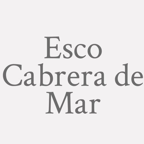 Esco Cabrera de Mar