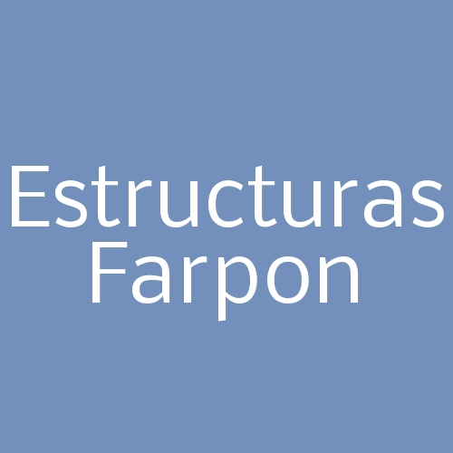 Estructuras Farpon