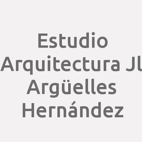 Estudio Arquitectura J.l. Argüelles Hernández