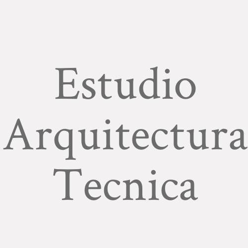 Estudio Arquitectura Tecnica