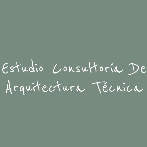 Estudio Consultoría De Arquitectura Técnica