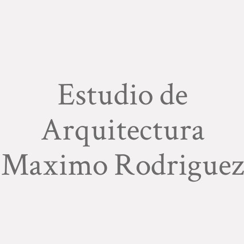 Estudio de Arquitectura Maximo Rodriguez
