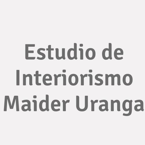 Estudio De Interiorismo Maider Uranga