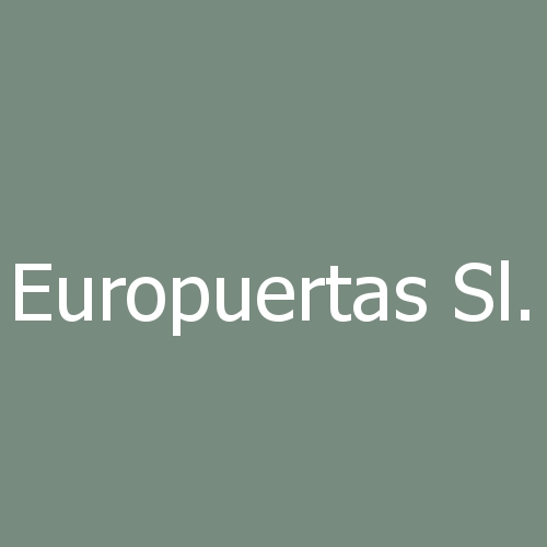 Europuertas sl.