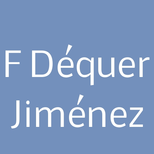 F Déquer Jiménez