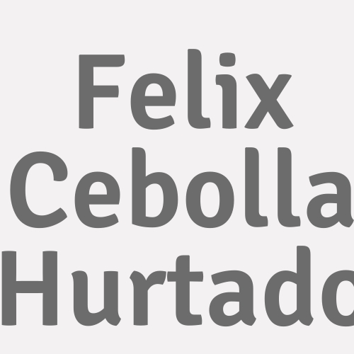Felix Cebolla Hurtado