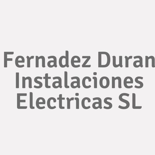 Fernadez Duran Instalaciones Electricas S.l