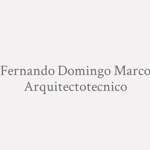 Fernando Domingo Marco Arquitectotecnico