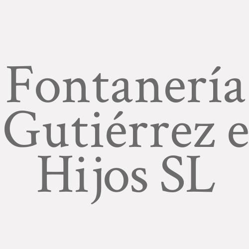 Fontanería Gutiérrez e Hijos SL