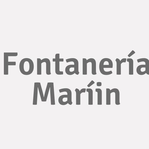 Fontanería Maríin