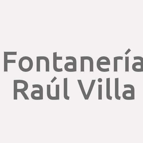 Fontanería Raúl Villa