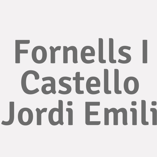 Fornells I Castello  Jordi Emili