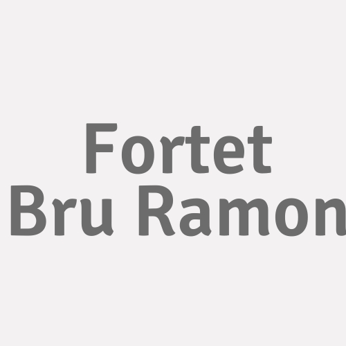 Fortet Bru Ramon