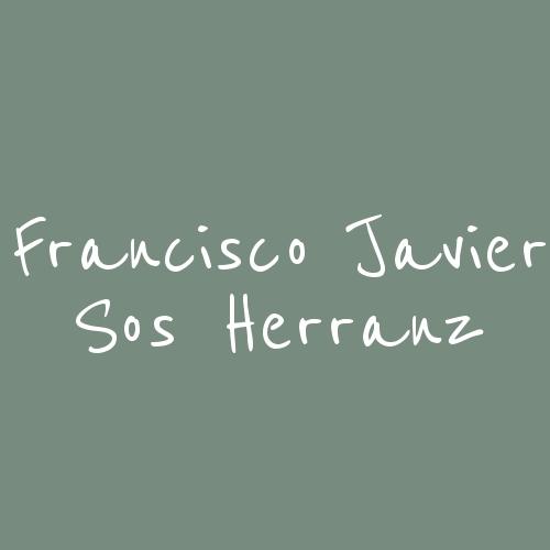 Francisco Javier Sos Herranz - Arquitecto Técnico