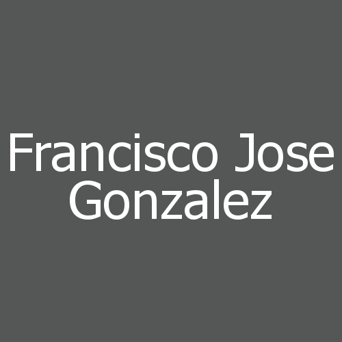 Francisco Jose Gonzalez