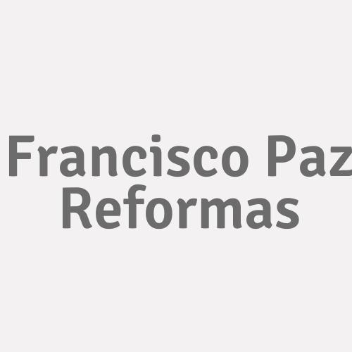 Francisco Paz Reformas