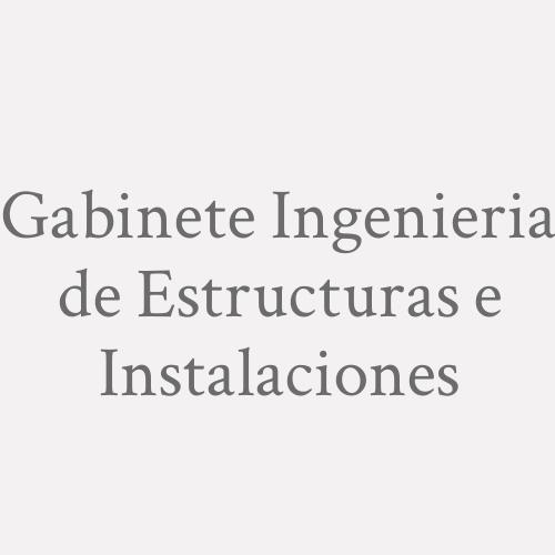 Gabinete Ingenieria de Estructuras e Instalaciones