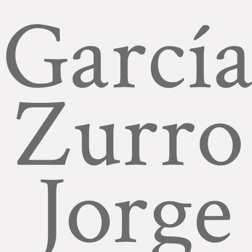García Zurro  Jorge