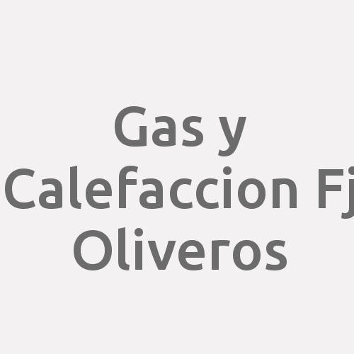 Gas Y Calefaccion Fj Oliveros