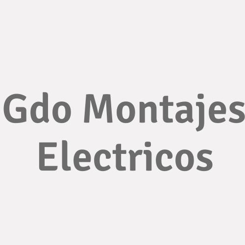Gdo Montajes Electricos