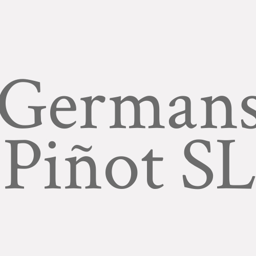 Germans Piñot S.l