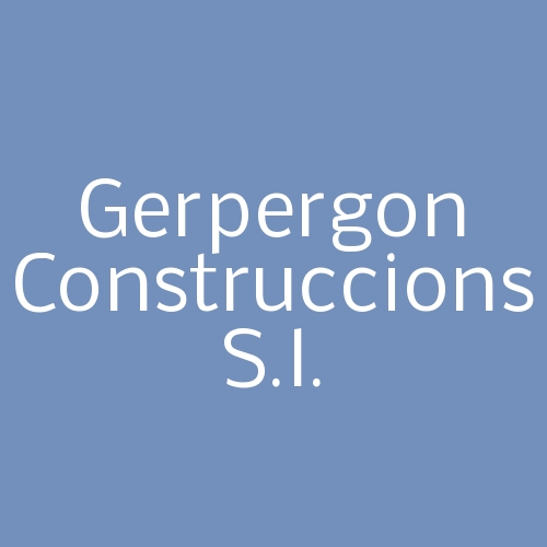 Gerpergon Construccions S.L.