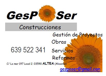 Gesposer Construcciones