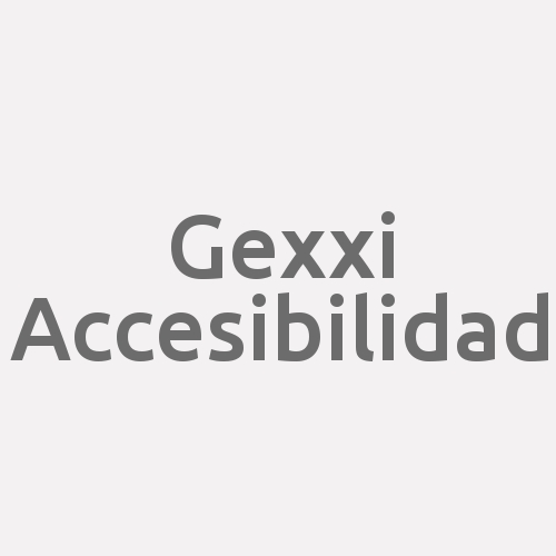 Gexxi Accesibilidad