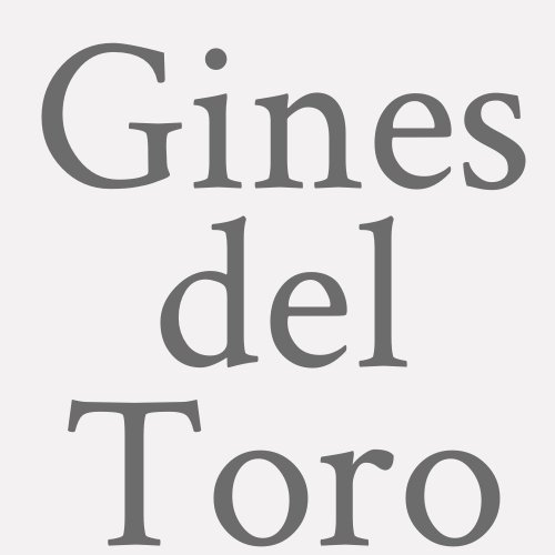 Gines Del Toro