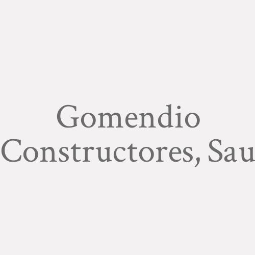Gomendio Constructores, S.a.u.