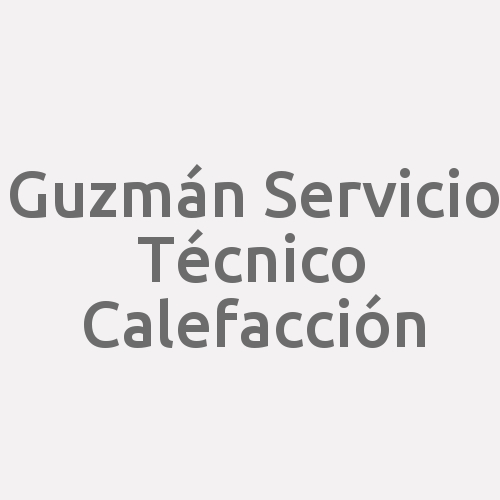 Guzmán Servicio Técnico Calefacción