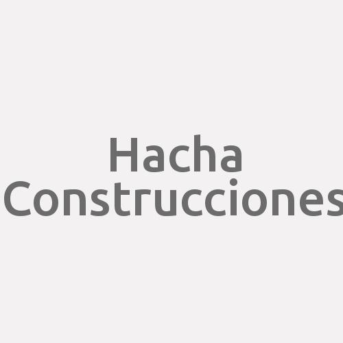 Hacha Construcciones