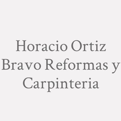 Horacio Ortiz Bravo  Reformas Y Carpinteria
