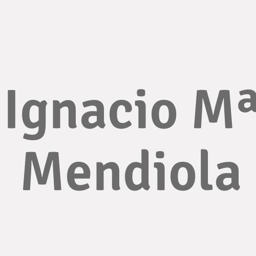 Ignacio Mª Mendiola