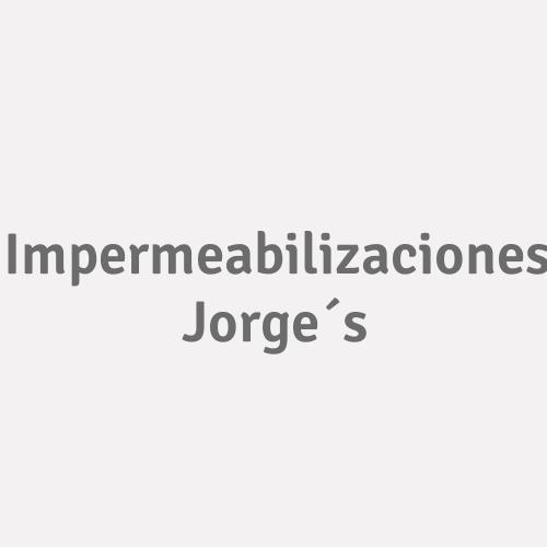 Impermeabilizaciones Jorge´s