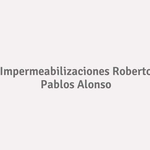 Impermeabilizaciones Roberto Pablos Alonso