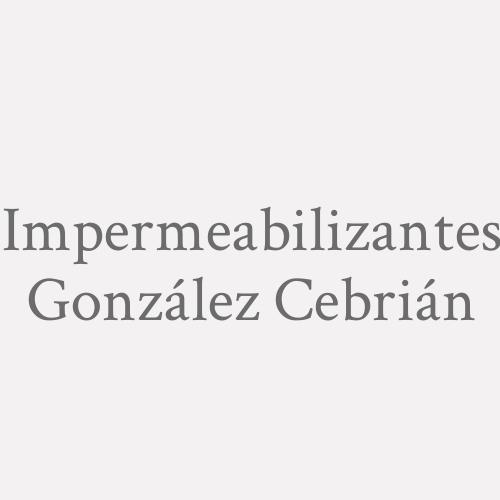 Impermeabilizantes González Cebrián