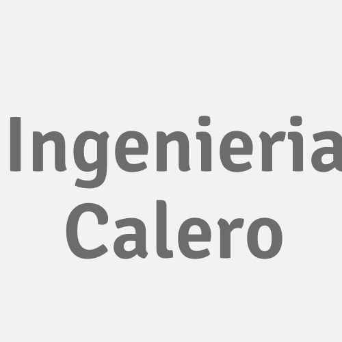 Ingenieria Calero