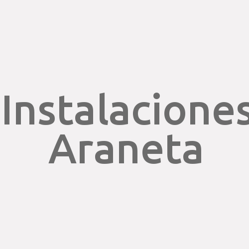 Instalaciones Araneta