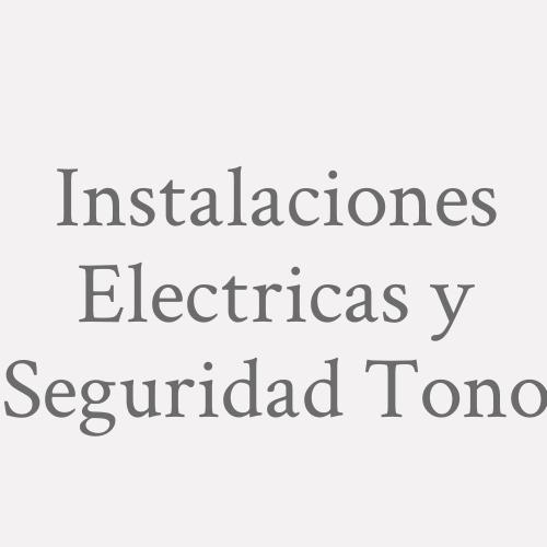 Instalaciones Electricas Y Seguridad Toni