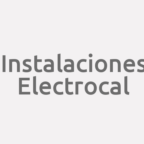 Instalaciones Electrocal