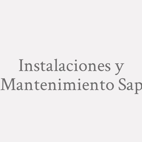 Instalaciones y Mantenimiento SAP