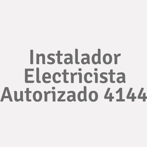 Instalador Electricista Autorizado 4144