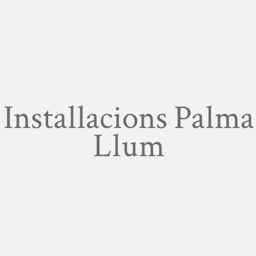 Instal.lacions Palma Llum