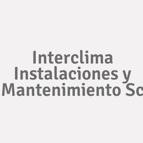 Interclima Instalaciones Y Mantenimiento S.c
