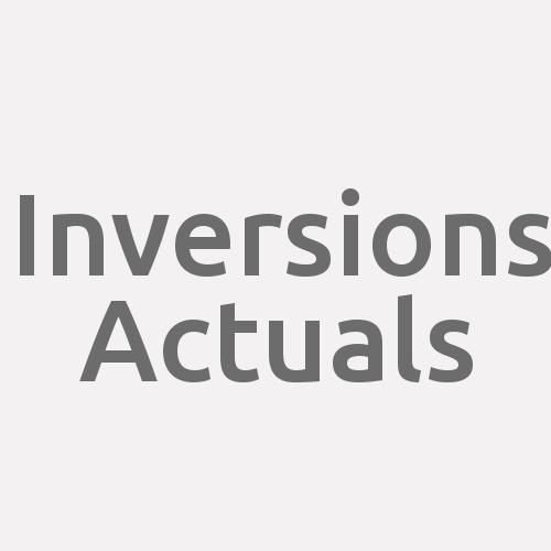 Inversions Actuals
